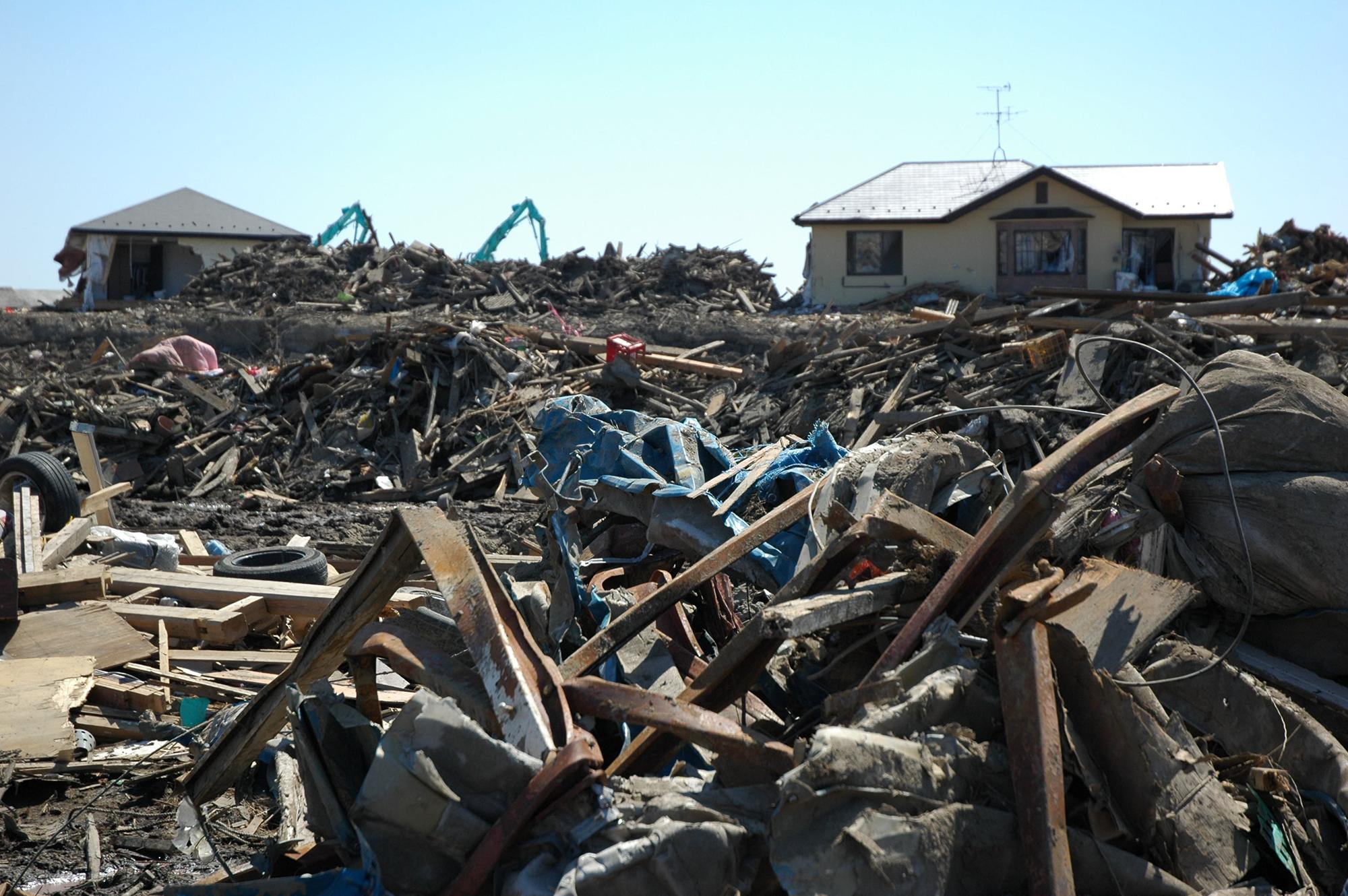 東日本大震災 若林区
