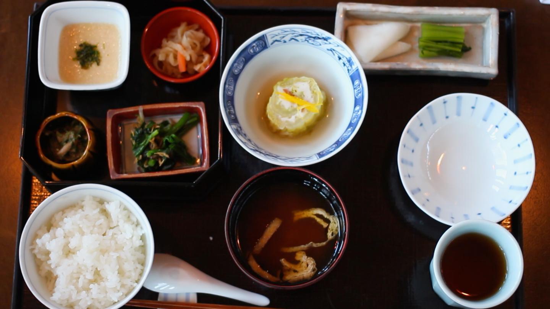 星のや 軽井沢の朝食