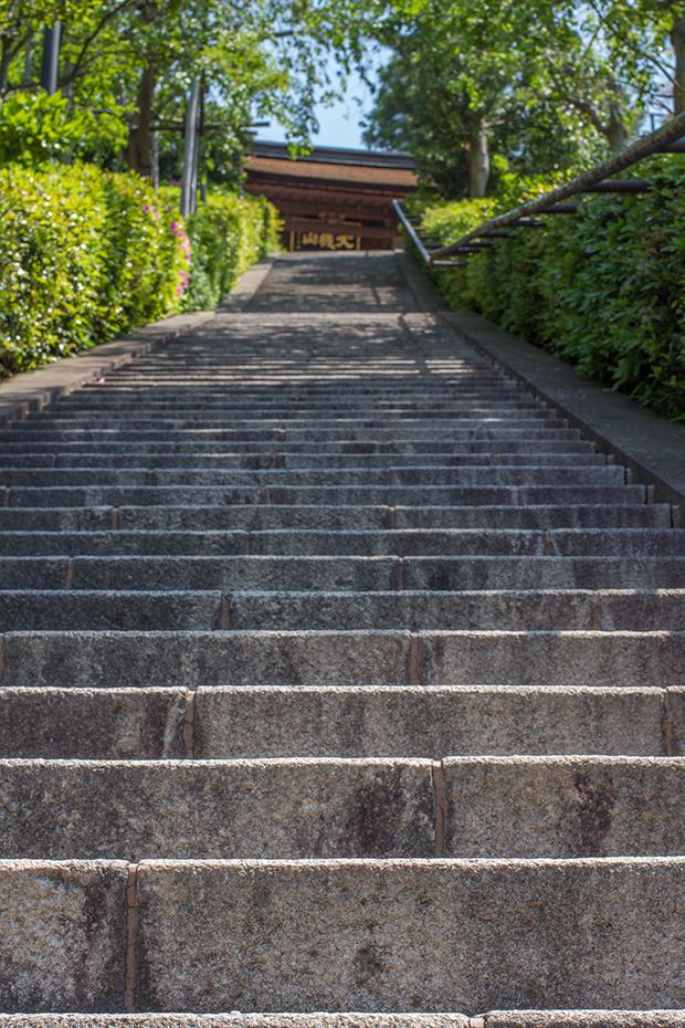 北鎌倉 階段