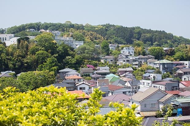 北鎌倉 高台からの景色