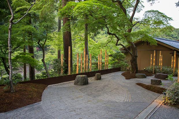 星のや 京都の日本庭園