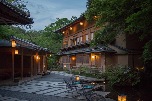 星のや 京都 新緑