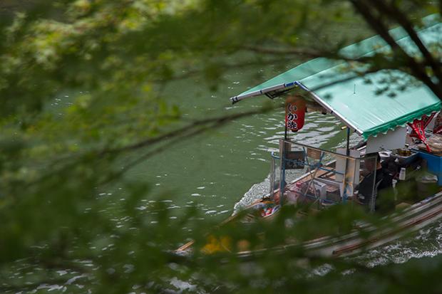 星のや 京都 部屋からの眺め