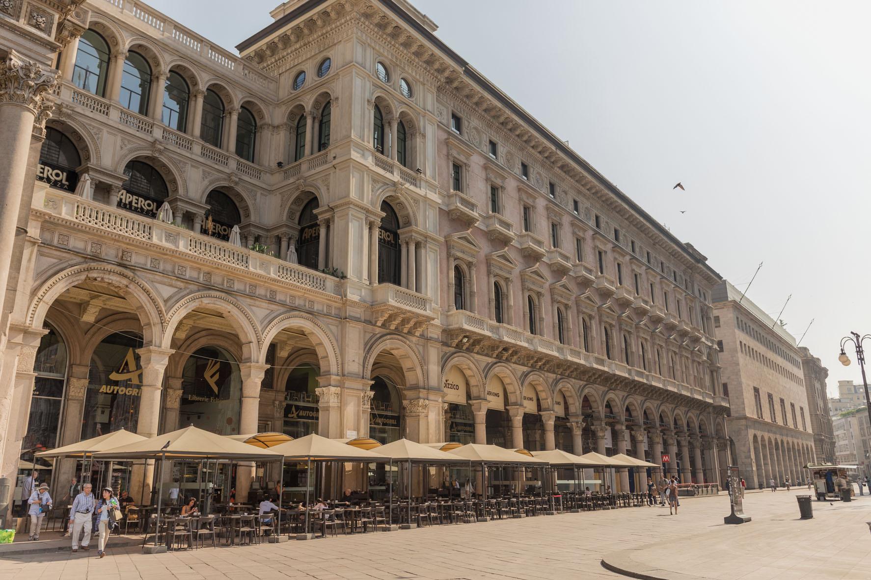 ギャラリア ミラノ イタリア