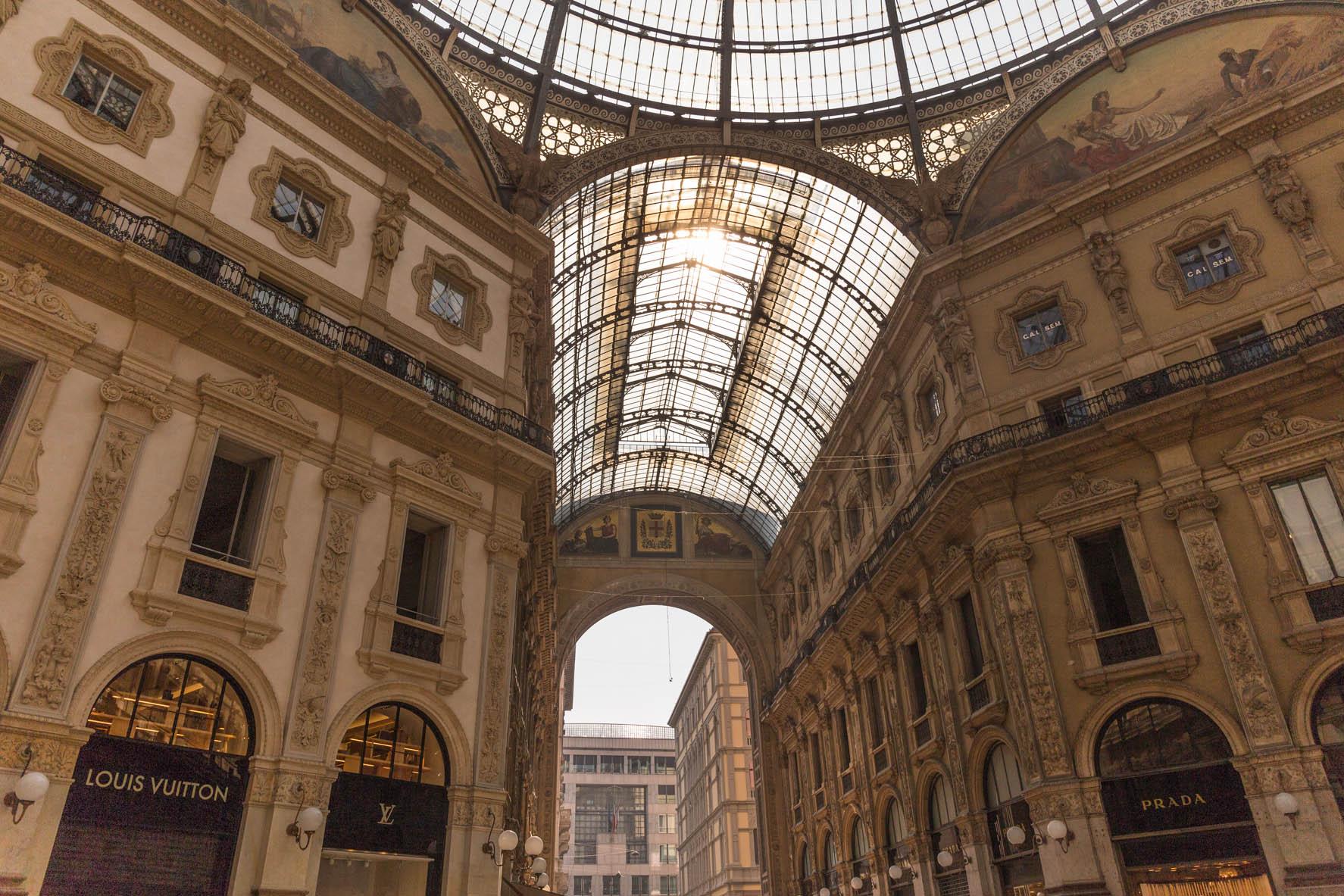 ガッレリア ミラノ イタリア